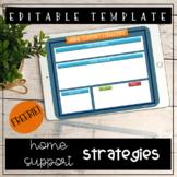 Editable Home Strategies Template