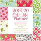 Editable Homeschool Planner – 2019-2020 Academic Year – Strawberries