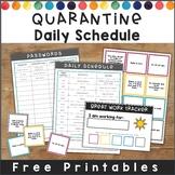 Editable Homeschool Schedule