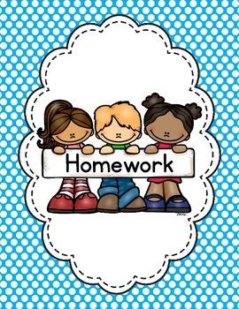 Editable Homework Binder