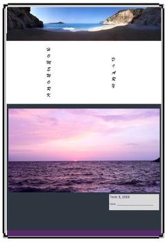 Editable Homework Booklet Record