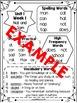 Editable Homework Sheets