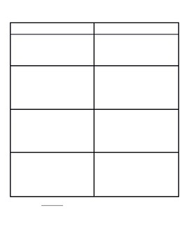 Editable Homework Template