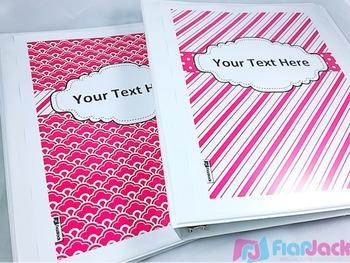 Editable Hot Pink Color Scheme Class Decor Kit