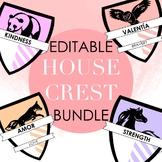Editable House Crest Bundle by Taracotta Sunrise