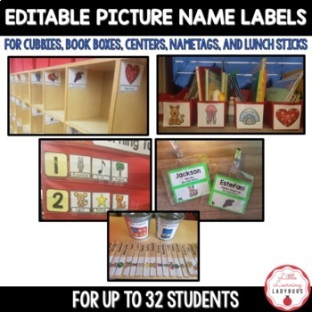 "Editable ""I Can Find My Name"" Kindergarten Classroom Management"
