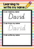 Editable- I can write my name