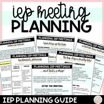 Editable IEP Checklist in Animal Print