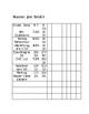 Editable IEP Goal Data Sheet