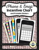Editable Incentive Chart Printables {iPhone and Emojis}