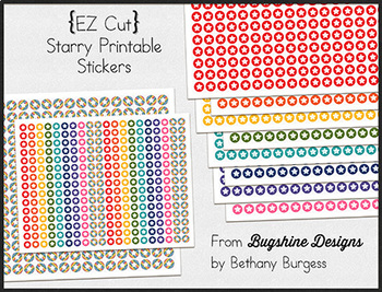 Editable Incentive Chart Printables {Starry}