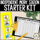 Editable Independent Work Station Starter Kit for Visual Learners