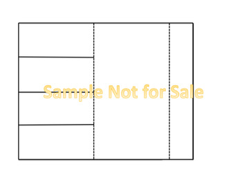 Seller's Pack of Editable Inserts, Flaps and Folds for Interactive Notebooks