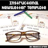 Principal Newsletter Template Editable