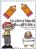 Editable Instructional Newsletter Bundle