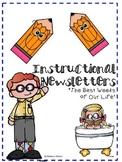 Weekly Newsletter Editable Bundle
