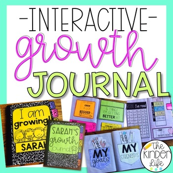 Interactive Data Growth Notebook Journal - Editable Add Any Standard or Subject
