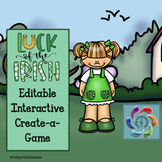 Editable Interactive Game for Google Slides- Luck of the I