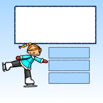 Editable Interactive Game for Google Slides- Skate On Create a Game