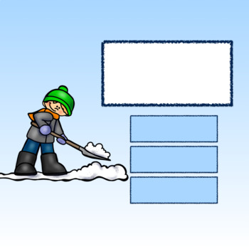 Editable Interactive Game for Google Slides- Winter Work Create a Game