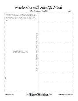 Editable Interactive Notebook Fold-Its