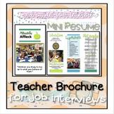 Interview Brochure for Teachers