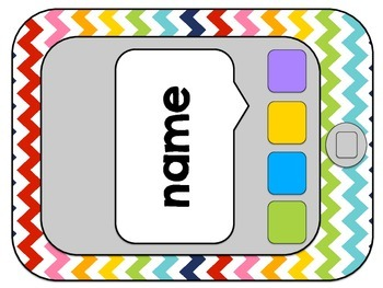 Back to School Bulletin Board EDITABLE Ipod Touch/Iphone Themed