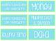 Editable Iris Scrapbook Container Labels