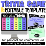 Editable JEOPARDY Game Template on Google Slides   Bright