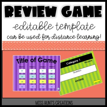 Editable Review Game