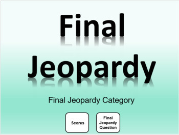 Great double jeopardy template images gallery editable jeopardy editable jeopardy template with daily double and final jeopardy tpt maxwellsz