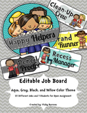 Editable Job Board