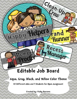 Editable Job Board