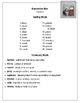 Editable Journeys Spelling lists for Third Grade