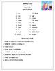 Editable Journeys Spelling lists for Third Grade