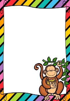 Editable Jungle Posters