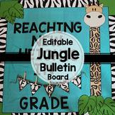 Editable Jungle / Safari Bulletin Board Display | Back to School Bulletin Board