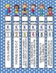Editable KINDERGARTEN Math Engage New York Binder Covers - Blue Dots