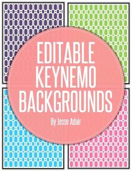 Editable Keynemo Backgrounds