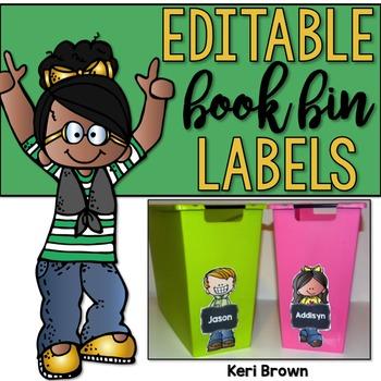 Editable Kidlette Labels