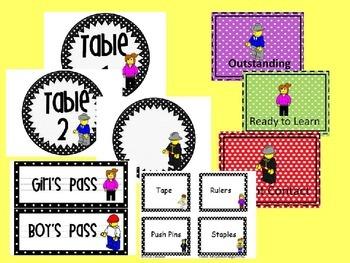 Editable Kids on the Blocks Mega Set