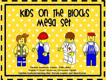 Editable Kids on the Blocks Mega Set