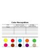 Editable Kindergarten Assessment