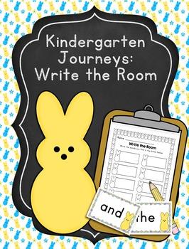 Editable Kindergarten Journeys Sight Words Write the Room