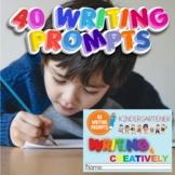 Editable  Kindergartners Creative Writing Worksheets, PDF