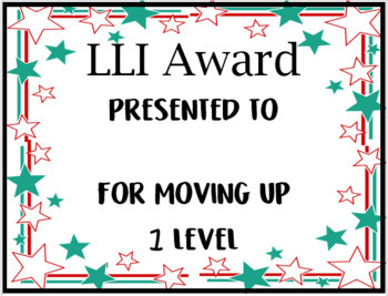 Editable LLI Award Certificates