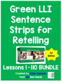 Sentence Strips for Retelling BUNDLE Green Leveled Literacy Intervention LLI