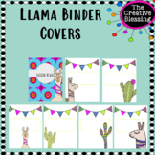 Editable LLama Binder Covers