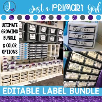 Editable Label Bundle (Pre-Sale) Growing Bundle