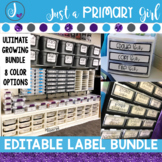 Editable Label Bundle (Pre-Sale) Growing Bundle